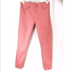 GAP 1969 Woman's Pink Skinny Jeans Size 29 Short